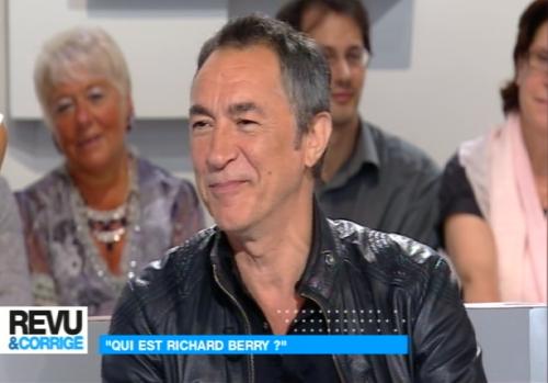 richard berry,invité,revu et corrigé,paul amar,france 5,télévision