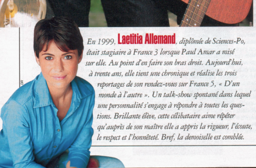 laetitia allemand,paul amar,article,gala,journaliste,tv,télévision